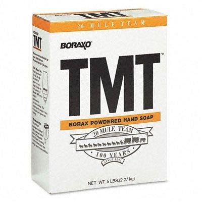 Tmt Powdered Hand Soap, Unscented Powder, 5Lb Box