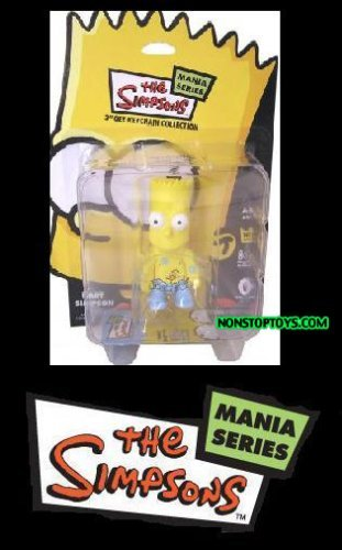 Bart Simpson Qee Figure Mania Series Rubber Ducky Bathtime Bart By Toy2R
