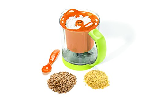 BEABA Rice, Pasta and Grain Pro Insert, Orange - 1