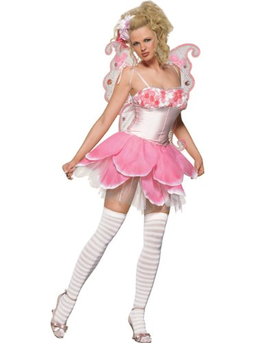 Rose Petal Pixie Theatre Costumes Fairy Wings Pink Costume