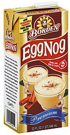 Bordens Egg Nog - 12 Pack (Canned Eggs compare prices)