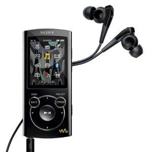 SONY ウォークマン Sシリーズ [メモリータイプ] 8GB ブラック NW-S764/B