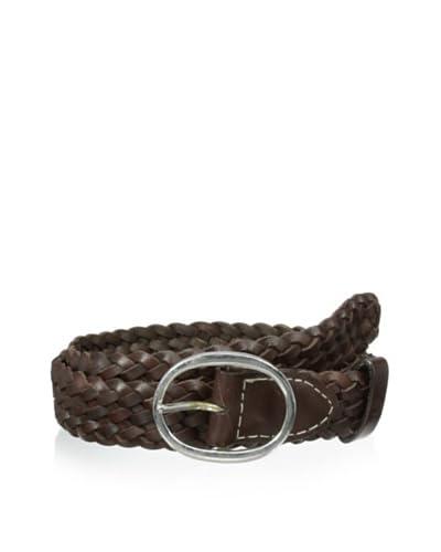 Ben Sherman Men's Plectrum Woven Leather Belt