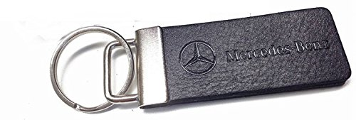 genuine-mercedes-leather-and-metal-key-ring