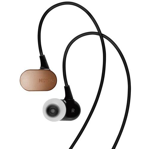 Nixon Micro Blaster Earbuds - Antique Copper