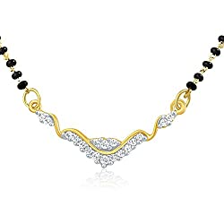 Mahi Gold-Plated Mangalsutra For Women Gold - PS1191438G