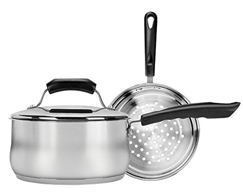 Range Kleen CW2006 2 Quart Covered Sauce Pan (Sauce Pan With Steamer compare prices)