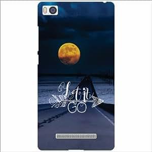 Xiaomi Mi4i MZB4300IN Back Cover - Silicon Let It Go Designer Cases