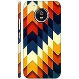 AMAN Colours Design 3D Back Cover For Moto G5