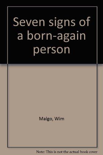 Seven signs of a born-again person PDF