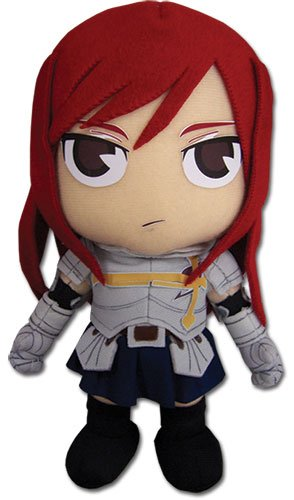 Great Eastern Fairy Tail: Erza 7.5″ Plush Doll image
