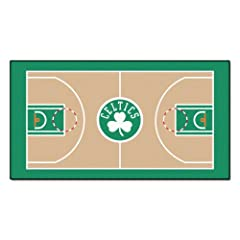 Buy FANMATS NBA Boston Celtics Nylon Face NBA Court Runner-Large by Fanmats