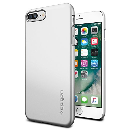 iPhone-7-Plus-Case-Spigen-Thin-Fit-Exact-Fit-Satin-Silver-Premium-Matte-Finish-Hard-Case-for-Apple-iPhone-7-Plus-043CS20735