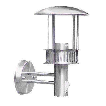 Ett LED Wandleuchte Castle-Design Laterne mit Bewegungsmelder IP44 5 Watt Außenlampe