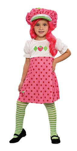 Toddler Strawberry Shortcake Costume Size 2-4T