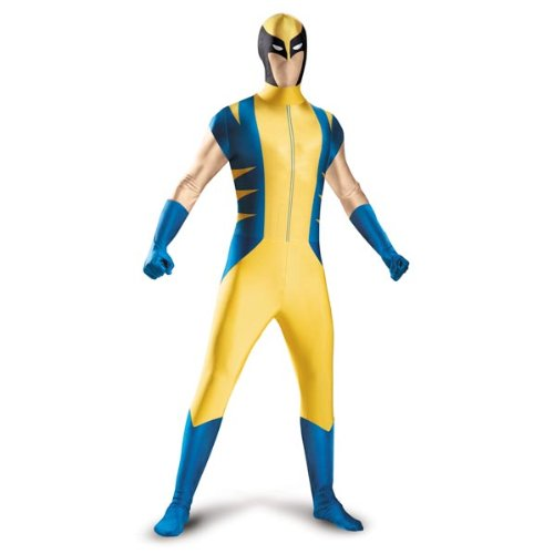 Classic Wolverine Teen / Adult Bodysuit Costume - Size Tween - Fits Size 14-16