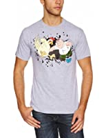 Family Guy Men's Chicken Fight Short Sleeve T-Shirt