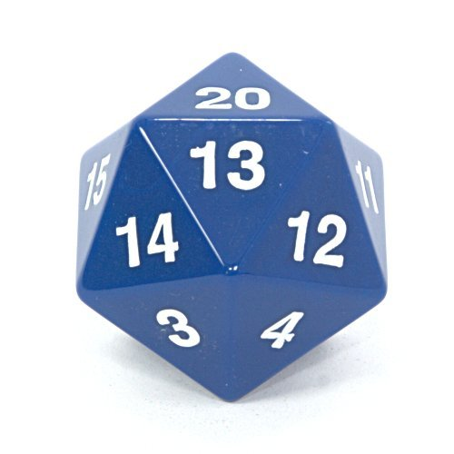 Koplow 14797 D20 Single 55 mm Countdown Blue Bagged