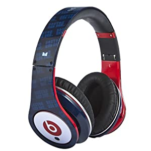 Beats by Dr. Dre Studio Red Sox Over Ear Headphone from Monster (Discontinued by Manufacturer)