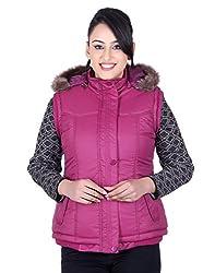 Montreal Women Jacket(Purple, Large)