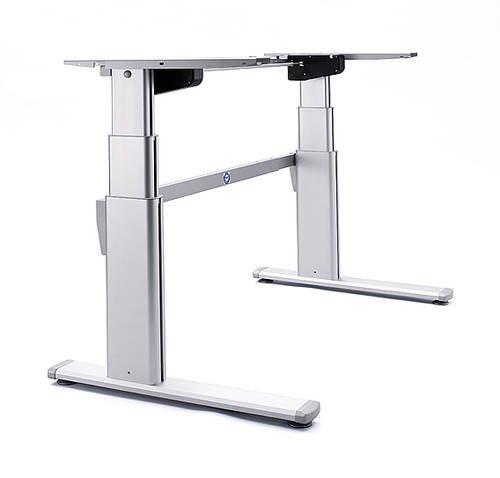 Piètement de table / armature de table / châssis de bureau Ergo version 2, électriquement réglable en hauteur
