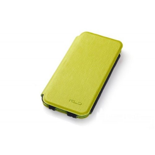 Apple4Fun Flip Leather Cover Case For Iphone 5 5S 5C - Green