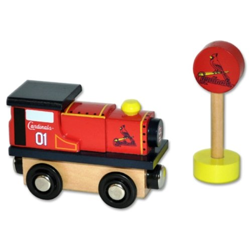 MLB St. Louis Cardinals Wood Train - Engine