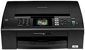 Brother Black Compact Inkjet All-in-One with Fax and Wireless Networking (MFCJ265W)