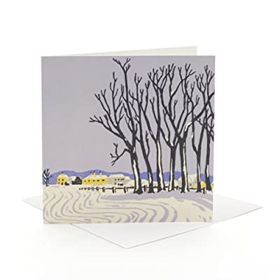 V&A Christmas Cards - Village Green (Pack of 10, Square)||RF20F||EVAEX