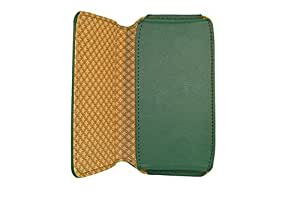 TOTTA PU Leather Hand Pouch For Celkon Millennia ME Q54 Plus - Green