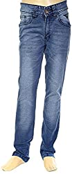 HAVOC Boys' 35065 Slim Fit Jeans (Blue, Size 34 - 9 to 10 Years)
