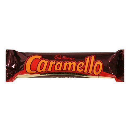 caramello candy bar