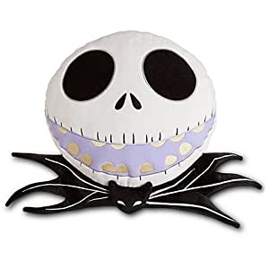 Jack Skellington Plush Head Cushion Pillow
