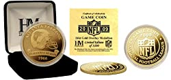 Atlanta Falcons 24KT 2009 Gold Game Coin