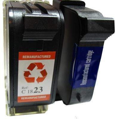 HP Druckerpatronen Refill 51645 & Tri-color C1823 Nr. 45+23 Youprint