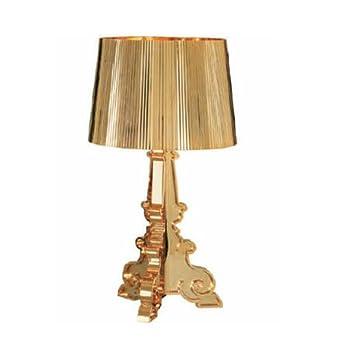 Kartell 907400 bourgie lampada colore oro metallizzato for Lampada kartell prezzo