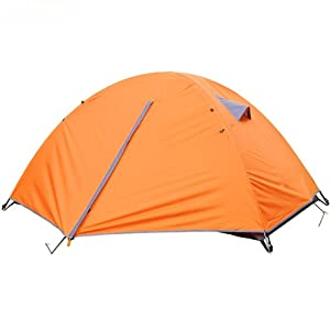 Amazon.com : 3 Season 2 Person Camping Tent Double-layer Waterproof