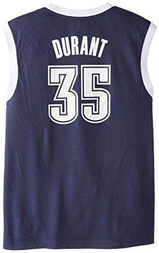 NBA adidas Kevin Durant Oklahoma City Thunder Revolution 30 Replica Performance Jersey - Navy Blue
