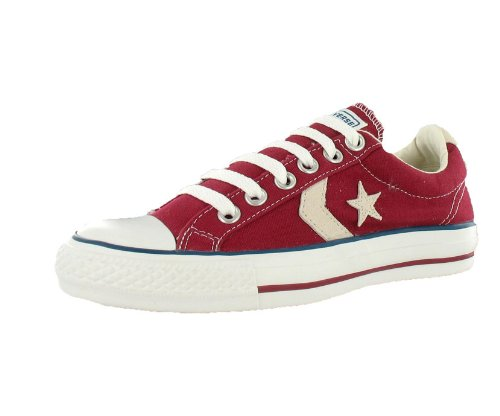 Converse Star Player Red Beige White