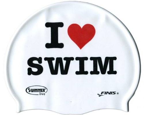 SwimmerWear - Cuffia in silicone I LOVE SWIM