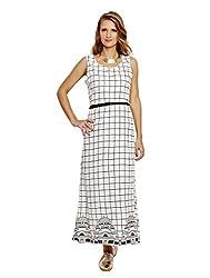 Jalebe Women's Maxi Dress_INDTJBL008_White_L