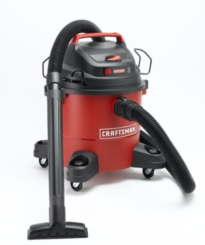 Find Discount Craftsman 6 Gallon Wet/Dry Vac Tackles Small To Medium Jobs. With The Accessory Kit Wi...