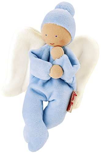 Kathe Kruse - Nickibaby Angel Doll, Light Blue