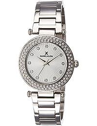 Daniel Klein Analog Silver Dial Women's Watch - DK10921-6