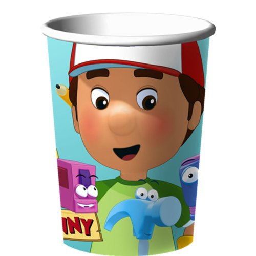 Handy Manny Party Supplies 16oz Plastic Party Cup - 1 Each by Hallmark - 1