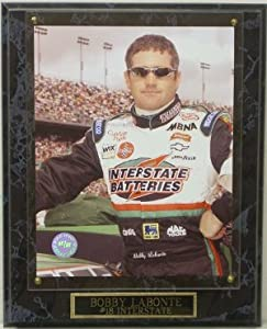 Bobby Labonte unsigned Nascar Champion Interstate 8x10 Photo Plaque Interstate... by Athlon Sports Collectibles