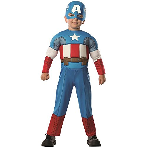 Avengers Assemble: Captain America Muscle Toddler Costume - Toddler