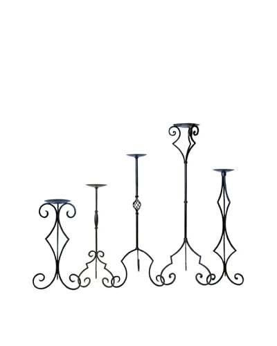 Pomeroy Set of 5 Castile Floor Hurricanes