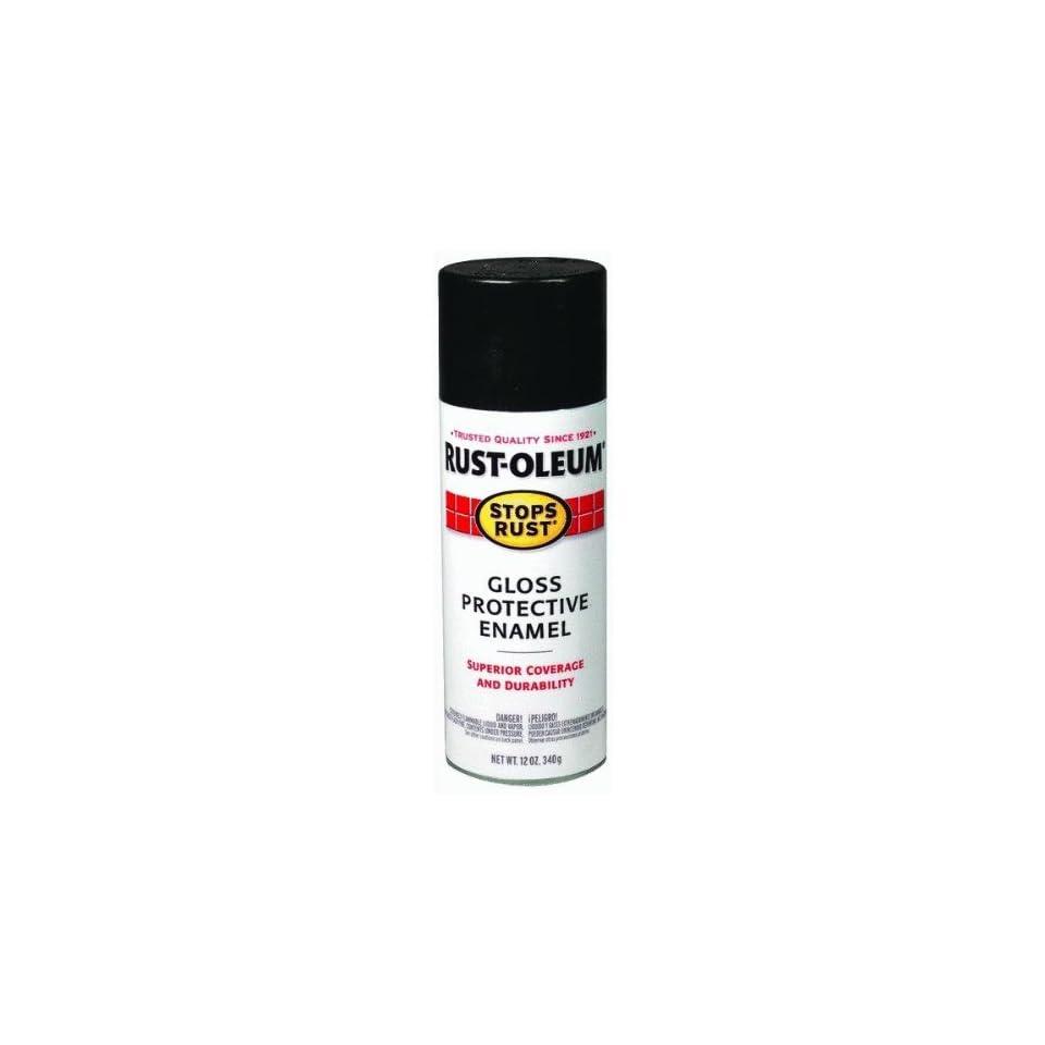 Rust oleum 7786 830 Stop rust Gloss Protective Enamel Spray Paint 12 Oz   Smoke Gray