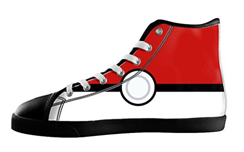 Pokeball Women's High Top Canvas Shoes